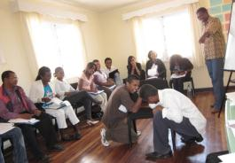 Journalism training in Madagascar